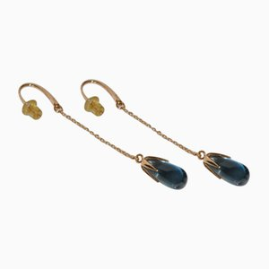 Earrings with Topaz by Pomellato, 2000s, Set of 2