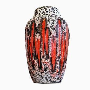No. 549/21 Lora Vase by Heinz Siery & Oswald Kleudgen for Scheurich, 1970s