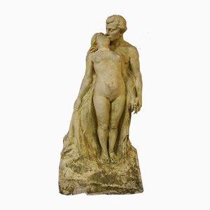 Escultura preparatoria antigua de Alfred Finot