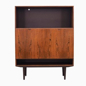 Vintage Danish Rosewood Bookcase, 1970s