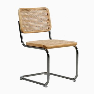 Bauhaus Ash S 32 Cantilever Chair by Marcel Breuer for Thonet, 1980s