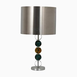 Chrome with Glass Table Lamp by Nanny Still for Raak, Netherlands, 1970s