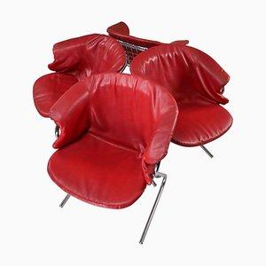 Chaises de Salon par Gastone Rinaldi pour Rima, Italie, 1970s, Set de 4
