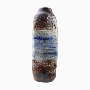 Mid-Century Fat Lava Floor Vase from Scheurich, West Germany, 1960s