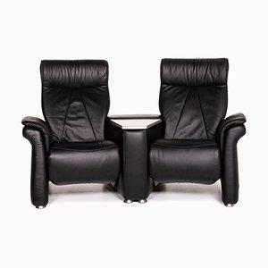 Schwarzes 2-Sitzer Relax Relax Relax Sofa von Himolla für BPW