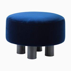 Ottomana Oooh 9204BL blu di Hermann August Weizenegger per Pulpo