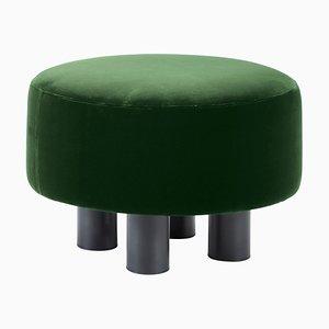Oooh Ottoman 9204GRE en verde de Hermann August Weizenegger para Pulpo