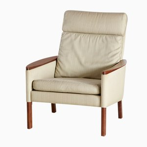 Vintage Rosewood Armchair by Aage Christiansen, 1960s