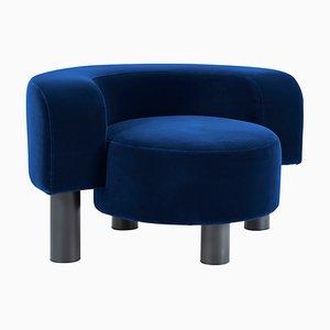 Pow Chair 9200BL in Blau von Hermann August Weizenegger für Pulpo