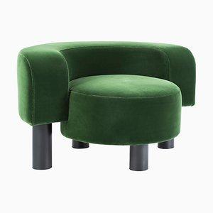 Pow Chair 9200GRE in Grün von Hermann August Weizenegger für Pulpo