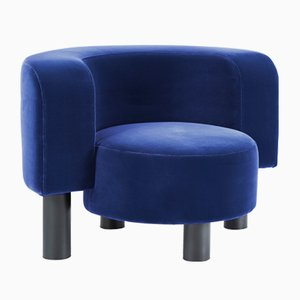 Wham Chair 9206BL in Blue by Hermann August Weizenegger for Pulpo
