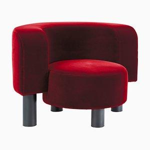 Wham Chair 9206R in Rot von Hermann August Weizenegger für Pulpo