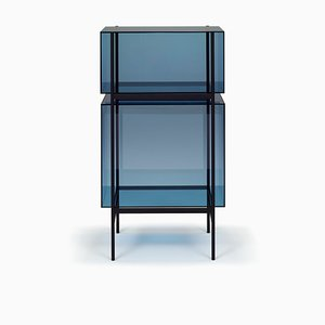 Small Lyn Shelf 8400BL in Blue by Visser & Meijwaard for Pulpo