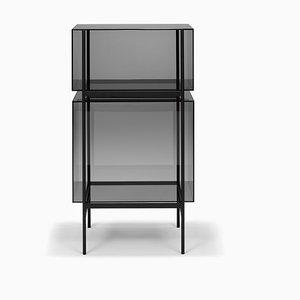 Small Lyn Shelf 8400G in Grey by Visser & Meijwaard for Pulpo