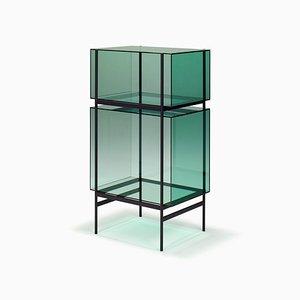 Mensola piccola Lyn Shel 8400GR verde di Visser & Meijwaard per Pulpo