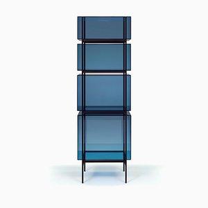 Etagère Haute Lyn 8400BL Bleue par Visser & Meijwaard pour Pulpo