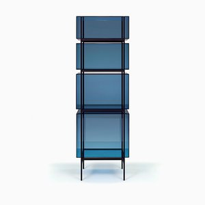 Lyn High Shelf 8400BL in Blue by Visser & Meijwaard for Pulpo