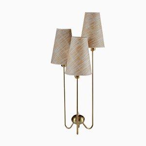 Lámpara de mesa sueca de latón de ASEA