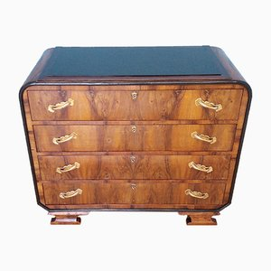 Italian Art Deco Style Chest of Drawers, 1960s