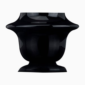 Atollo Bowl in Black Glass from VGnewtrend