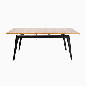 Extendable Cherrywood and Maple Dining Table by Robin & Lucienne Day for Hille, 1940s