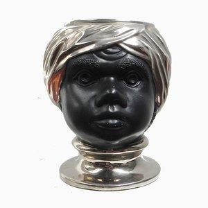 Head Moro's Sculpture from Ceramiche Firenze, 1970s