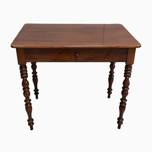 19th Century Louis Philippe Solid Walnut Side Table