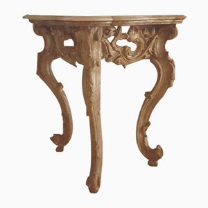 Antique Louis XV Italian Console Table