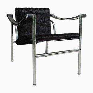 Modell LC1 Armlehnstuhl von Le Corbusier für Cassina, 1960er