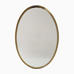 Golden Brass Mirror, 1950s