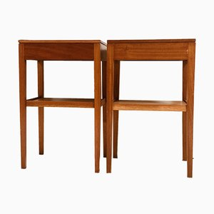 Vintage Teak Nightstands from Remploy, 1970s, Set of 2
