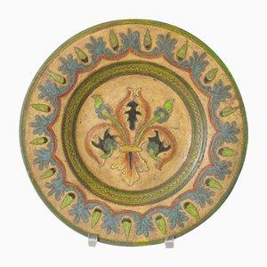 Piatto decorativo di Dante Milani Montopoli, Italia, anni '30