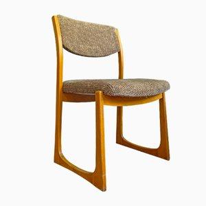 Mid-Century Esszimmerstühle von Baumann, 1960er, 4er Set