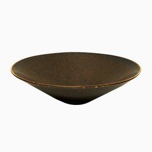 Vintage Swedish Glazed Ceramic Bowl by Carl-Harry Stålhane for Rörstrand, 1950s