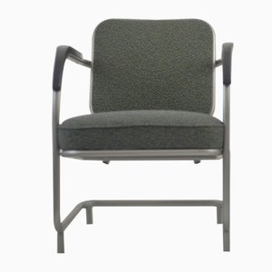 Vintage Bauhaus Style Armchair, 1940s