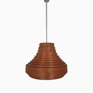 Wooden Lamella Ceiling Lamp by Hans-Agne Jakobsson for Hans-Agne Jakobsson AB Markaryd, 1960s