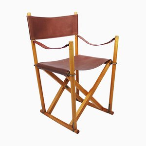 Model MK99200 Folding Chair by Mogens Koch, 1950s