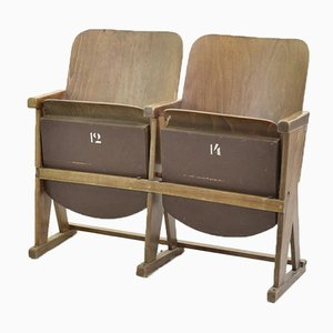 Vintage Cinema Seats from Ton, 1960s