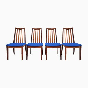 Mid-Century Danish Teak Dining Chairs from G-Plan, Set of 4
