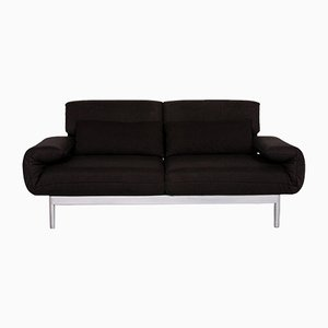 Black Fabric Plura 2-Seat Relax Function Sofa from Rolf Benz