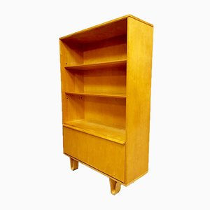 Vintage Birch Series BB03 Cabinet Bookcase by Cees Braakman for Pastoe, 1950s