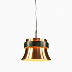 Vintage Copper and Aluminum Pendant Lamp from VEB Metalldrücker Halle, 1970s