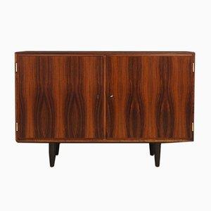 Vintage Danish Rosewood Veneer Cabinet from Hundevad & Co., 1970s