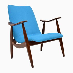 Vintage Dutch Armchair by Louis Van Teeffelen, 1960s