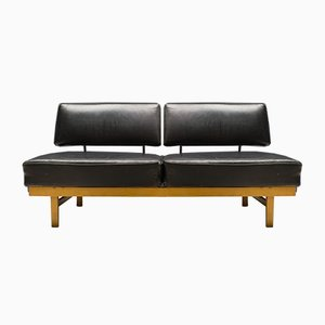 Mid-Century Leather Model Stella Daybed from Walter Knoll / Wilhelm Knoll, 1950s