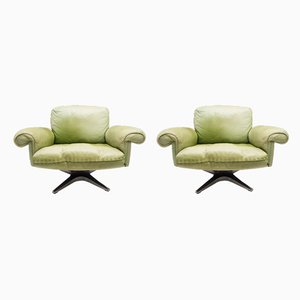 Swiss Model DS31 Armchairs from de Sede, 1960s, Set of 2