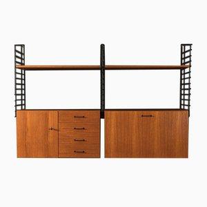 Teak Veneer Shelf from Musterring International, 1960s