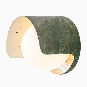 Lámpara de pared modelo 2424 finlandesa Mid-Century de cobre de Paavo Tynell para Idman