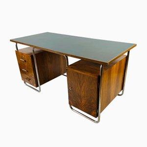 Vintage Bauhaus Style Desk, 1940s