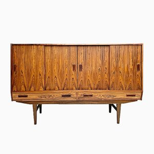 Danish Rosewood Highboard from Westergaard Møbelfabrik, 1960s